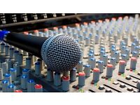 Cardiff PA Hire - Speakers, Mixer, Microphone & Mic stands bundle from £50