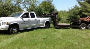 need equipment moved or shed transported.