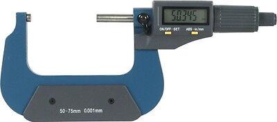 Digitale Bügelmessschraube 50-75 mm Digital Mikrometer Messchraube DIN Lithium