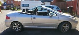 2006 PEUGEOT 307 HARD TOP CONVERTIBLE. 1.6 PETROL