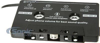 iSimple ISMJ38 Auxiliary Input Cassette Adapter with Hands-Free Calling