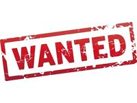 Wanted used touring caravans and motorhoms