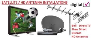 SHAW DIRECT BELL DIRECT DISH FTA. Satellite Dish Installations -