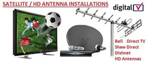 Satellite Dish Installations SHAW DIRECT BELL DIRECT DISH FTA. N