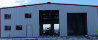 STEEL BUILDINGS FOR SALE AND INSTALLED - ANYWHERE IN CANADA!