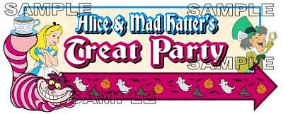 Disney Mickey's Not So Scary Halloween Alice Mad Hatter Trick or Treat Die Cut](Not So Scary Halloween Crafts)