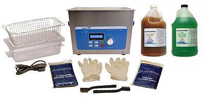 SharperTek Ultrasonic Handgun Pistol Cleaning Cleaner Tank and Package XPS240-4L