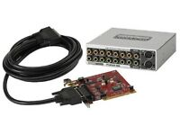 Terratec Phase 88 Sound Card w Breakout Box & Cable
