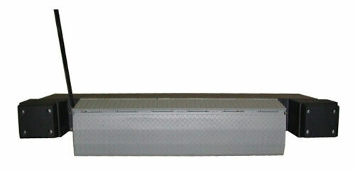 "Edge of Dock Leveler model #SEL2072CG, 20,000# capacity, 72"" wide with bumpers"