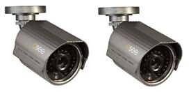NEW SEALED Q-SEE WEATHERPROOF SECURITY BULLET CAMERAS WITH 100FT NIGHT VISION