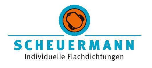 Scheuermann-flachdichtungen