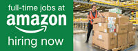 Amazon is now hiring Fulfillment Associates in New Westminster!