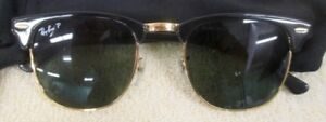 Authentic ray ban clubmaster sun glass