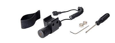 - DE Red Laser Sight w/ Pressure Switch & Mount for Airsoft Guns Adjustable LA30