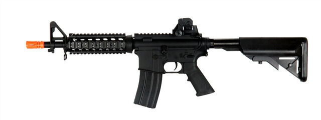 Black CYMA M4 CQBR Electric Airsoft Gun with Metal Version 2