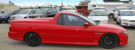 2007 Holden Ute VZ MY06 SS Red 6 Speed Manual Utility Bellevue Swan Area Preview