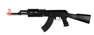 UK Arms AK-47 Carbine AEG Airsoft Rifle (Black) -