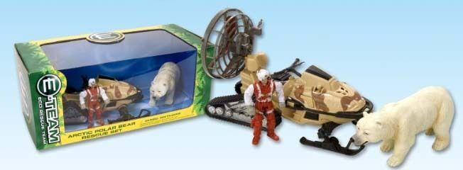 Wild Republic Eco Rescue Team Arctic Adventure arctic Polar Bear Rescue Set