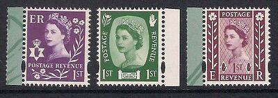 Northern Ireland 2008 NI154-6 Wilding Regional booklet stamp set MNH ex NI112-4