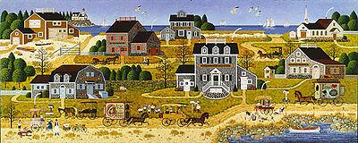 Charles Wysocki SALTY WITCH BAY giclee canvas #2