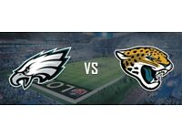 NFL @ Wembley Philadelphia (Superbowl champs 2018) vs Jacksonville Jaguars 28/10/2018 (2 tickets)