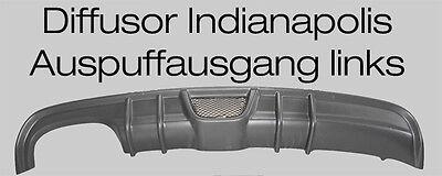 Mercedes CLK W208 Diffusor Indianapolis für AMG Ausschnitt links 4 Finnen