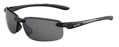 Bolle Attraxion Sunglasses - 12253 - Shiny Black w/ Polarized TNS Anti Fog (Bolle Sunglasses Lenses)