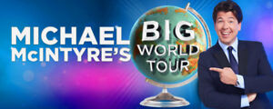 Looking for tickets - Michael McIntyre - Feb 2 or 3