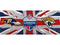 NFL London Ravens v Jaguars (4 tickets)
