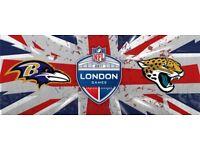 X2 - LOWER SIDELINE- NFL TICKETS BALTIMORE RAVENS VS JACKSONVILLE JAGUARS. QUICK SALE