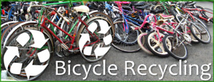 Picking up unwanted bicycles !