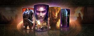 Starcraft 2 cups/glasses