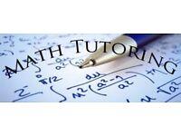 Maths tutor for KS2, KS3, GCSE and A level