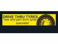 Any tyre £20 part worn tyres opening offer