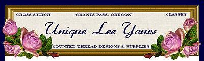 Unique Lee Yours-Cross Stitch Shop