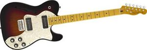 Fender Modern Player Telecaster Thinline Deluxe 3 Color Sunburst Maple