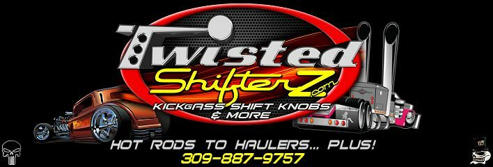 Twisted Shifterz Custom Shift Knobs