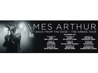 BIC James Arthur tickets