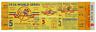 1 1956 WORLD SERIES NEW YORK YANKEES UNUSED FULL TICKET PERFECT game 5 laminated