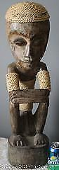 Large Hand Carved African Tribal Carving FIgure