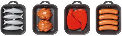 Ecoiffier 4er-Set Grillgut Grilllebensmittel