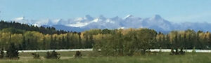 Rare 10 Acre parcel in Bearspaw with Unobstructed Mountain View