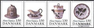 Dinamarca 977-980 banda de cuatro (completa. edición.) nuevo 1990 Vajilla, usado segunda mano  Embacar hacia Spain