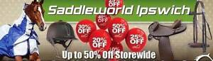 SADDLEWORLD IPSWICH HUGE STOCK CLEARANCE NOW ON 30% OFF!! North Ipswich Ipswich City Preview