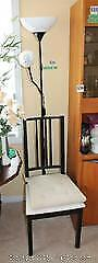 IKEA Chair and Floor Lamp A