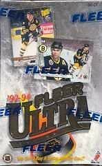 1993-94 FLEER ULTRA - SERIES 1 - hockey cards - unopened box