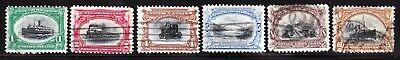 Set of 1901 U.S. Scott # 294-299 Pan-American Expo Stamps Used