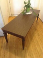 Brown coffee table in good condition