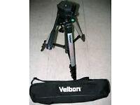Velbon DX-888 Digital tripod with carry case