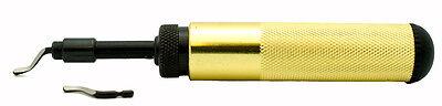 1 Set B Shaviv 29066 Aluminum Handle Deburring Tool The Workhorse Shaviv 29066